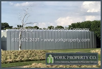 York Property Co Architectural Metal Refinishing